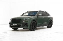 Bentley Bentayga цвета Verdant Green от ателье Startech