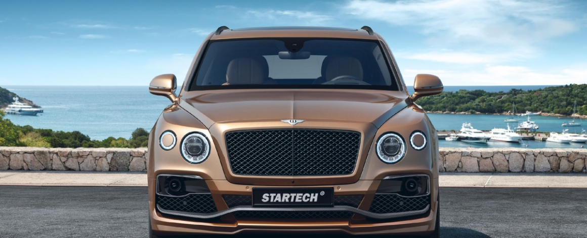 Тюнинг Bentley Bentayga