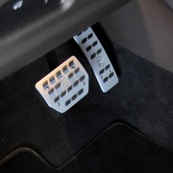 STARTECH Алюминиевые накладки на педаль